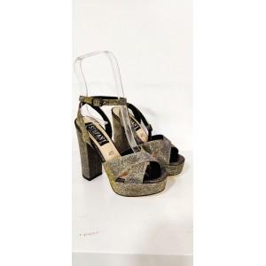 sandali trendy m69 bronzo con plato'